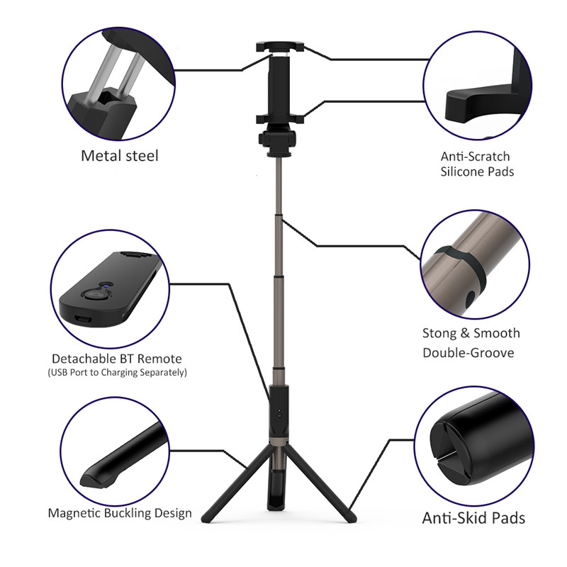 Flexible Folding Tripod