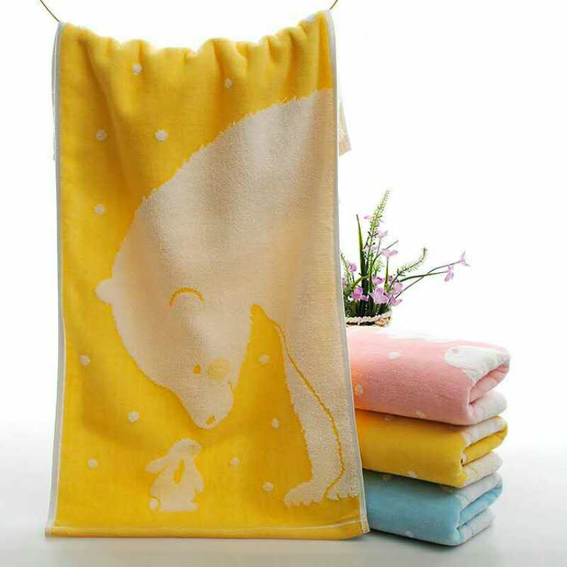 100% Cotton Face Towel Hand Towel