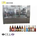 Semi Automatic Glass Bottle Carbonated Filling Machine