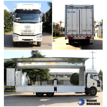 Dissel Engine Euro3 Emission Wing Opening Box Truck