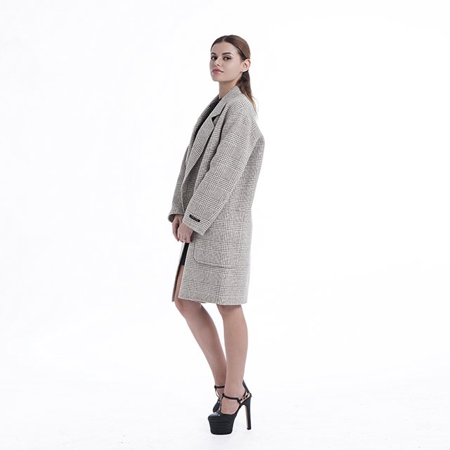 Girl cashmere coat suit