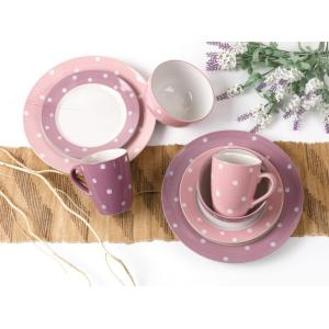 Pink cute girl style dinnerware sets