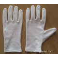 band marching jeweler kid gloves with logo embroidery