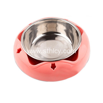 Wholesale Food Grade Stainless Steel Pet Bowl
