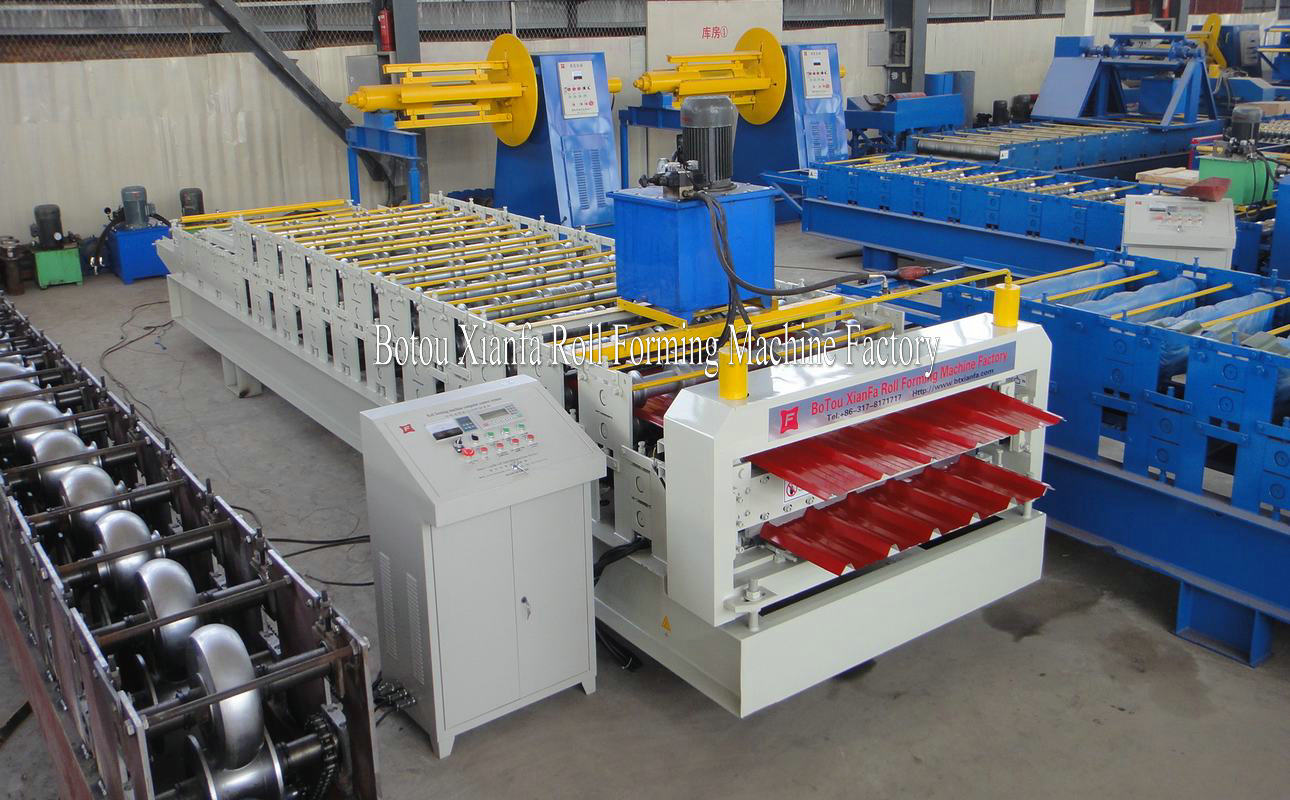 IBR metal roll forming machine