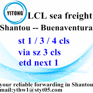 Professional Forwarder Shipping From Shantou to Buenaventura