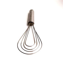 Stainless hand powered whisk