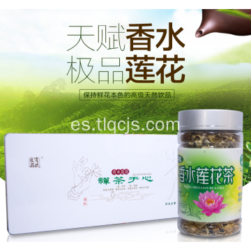 té de lotus saludable sabrosa