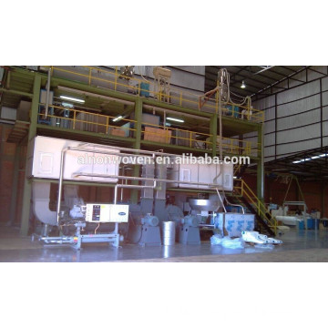 SS PP SPUNBOND NONWOVEN MAKING MACHINE 2400 ss machine