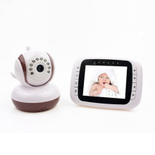 China for 3.5Inch Body Care Monitor PTZ Lullaby Intercom Remote Control Baby Monitor export to United States Wholesale