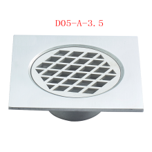 Square steel Bathroom Drain
