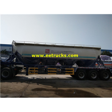 35m3 Bulk Powder Tanker Trailers