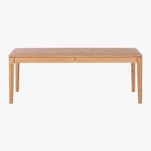 PriceList for for Solid Wood End Tables High Quality 2 Drawers Coffee Table with storage export to Saint Vincent and the Grenadines Manufacturers