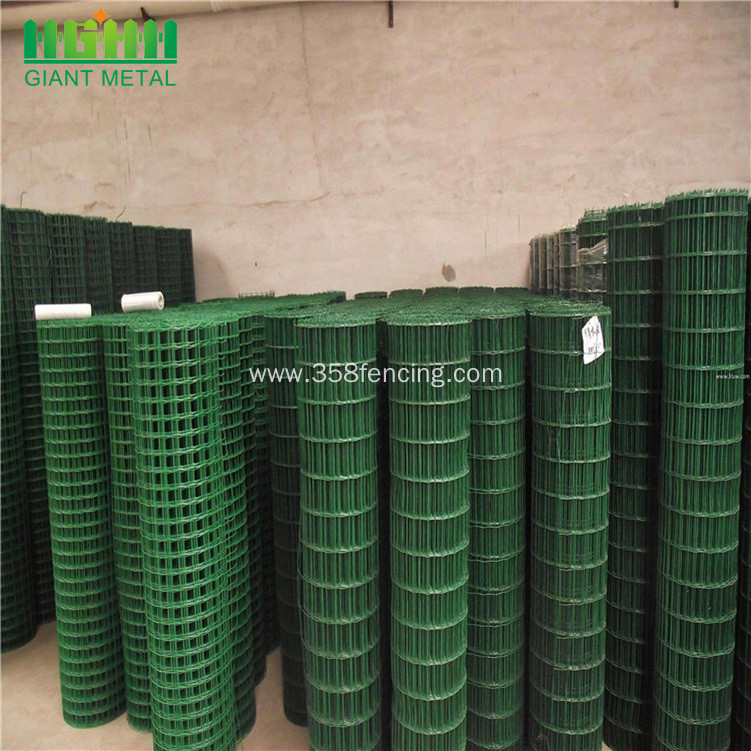 High Quality PVC Coated Galvanized Euro Panel Fence