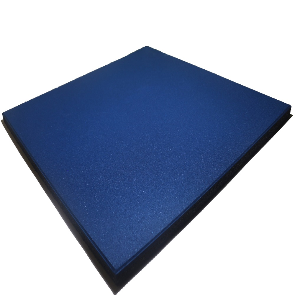 Blue Rubber Tile Flooring