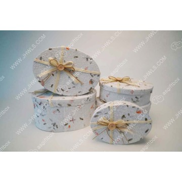 Thai paper bow bouquet gift box