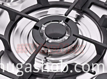 8MM Tempered Glass 5 Burners Gas Hob