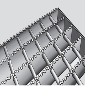 Leading for Stainless Steel Floor Grating Stainless Serrated Steel Grating export to Kazakhstan Factory