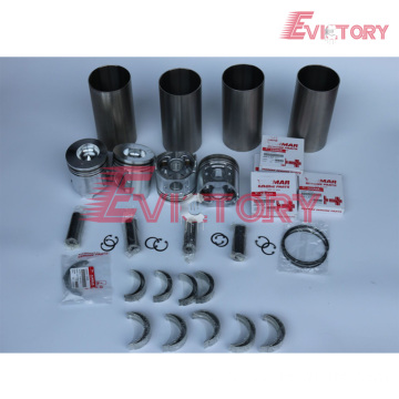 excavator 4TNE98 engine gasket bearing piston ring liner