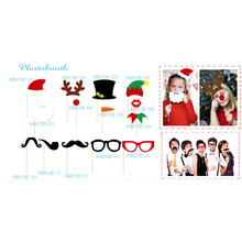 Christmas photo booth props party supplies for christmas