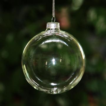 Clear Christmas Glass Ball  Clear Glass Christmas Ball Ornaments