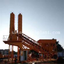 China for Mobile Batch Plant Equipment 75 Construction Portable Concrete Mix Machinery supply to North Korea Factory