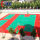 Plastic Click Together Backyard Playground Floor Tiles