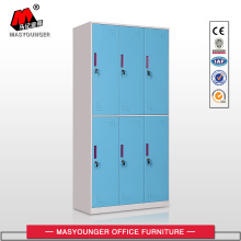 Quality for School Lockers Knocked Down Structure Blue Metal Lockers export to Cook Islands Suppliers