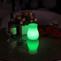 PE Best Quality Promotional Glowing Led Flower Pots