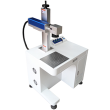 Floorstand Fiber Laser Marking Machine