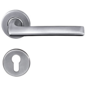 Polished Solid Hotel Door Handle