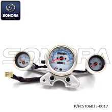 Best Price for for Baotian Scooter Speedometer, Qingqi Scooter Speedometer, Benzhou Scooter Speedometer Manufacturer in China QINGQI Spare parts QM125-2C SpeedometerOdometer (P/N:ST06035-0017) TOP QUALITY supply to Italy Supplier