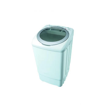 Silver Plastic Cover 9KG Single Tub Washing Machine
