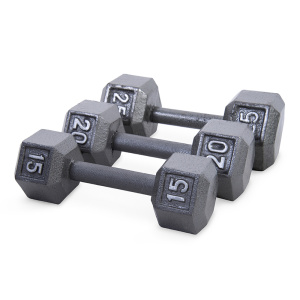 Cast Iron Dumbbell For Bodybuilding Fitness