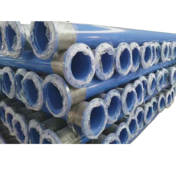 Pe Anti-corrosion Plastic Coated Steel Pipe