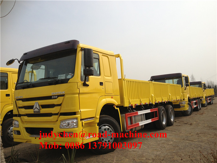 336hp HOWO 25 - 40t Cargo Truck Chassis