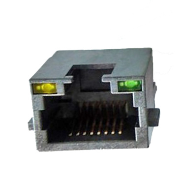 RJ45 8P8C Sink In EMI Type