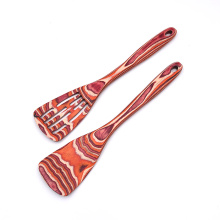 2 PCS Pakkawood Utensil Sets With Shovel