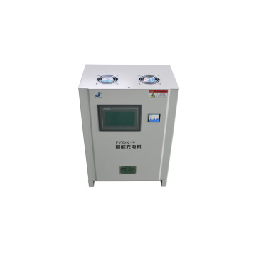 LCD Touch Screen Intelligent Battery Charging System