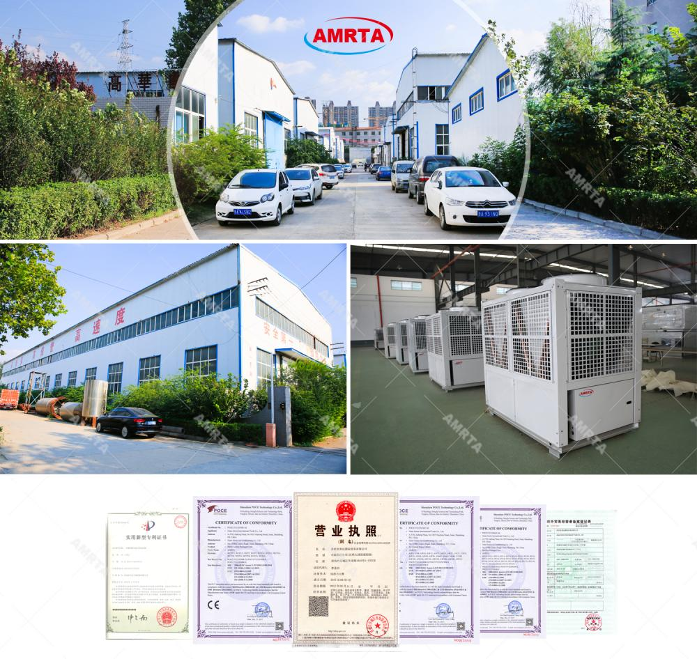 Amrta Factroy and Certificates