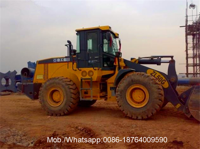 XCMG 220HP Loading 5T Compact Wheel Loader