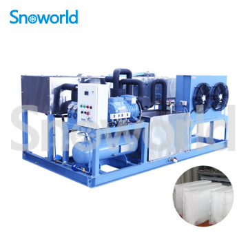 Snoworld Ice Block Machine Industrial
