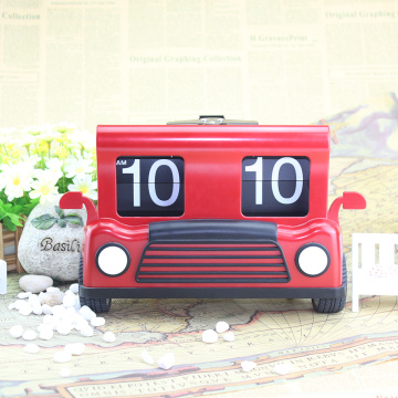 Car Flip Table Clock New Design