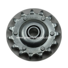 Europe style for Case IH Combine Parts, Case IH Corn Head Parts Leading Manufacturer,Chain drive sprocket with heat treatment, lower idler support AG2437 Case-IH Cornheader 15 Tooth Idler Single Pitch Sprocket supply to New Caledonia Manufacturers