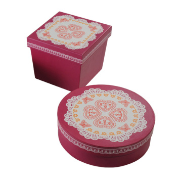 Exquisite Wedding Favor Paper Gift Box for Clothing