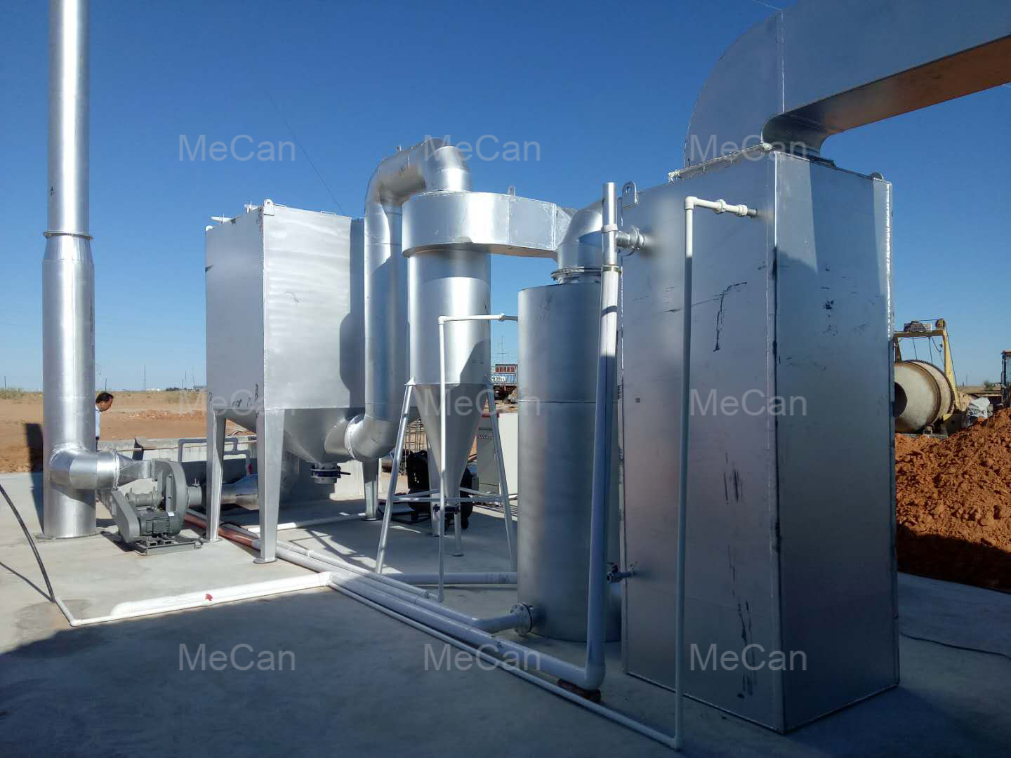 Medical Waste Incinerator with Enhanced Gas Scrubber Unit
