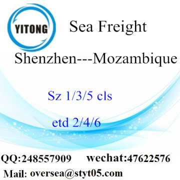 Shenzhen Port LCL Consolidation To Mozambique
