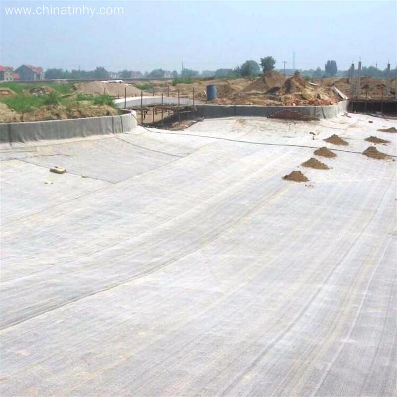 Landfill Bottom Layer Bentonite GCLS with Woven Fabric