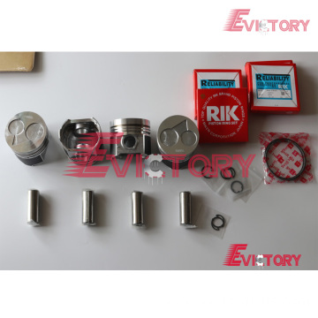 KUBOTA V2403-T rebuild overhaul kit gasket bearing piston