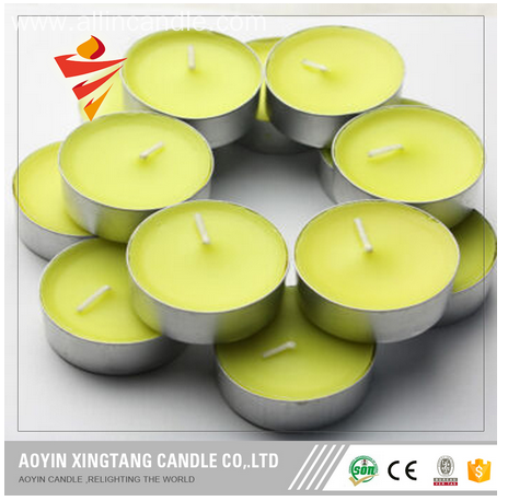 Christmas Occasion White Tealight Candle